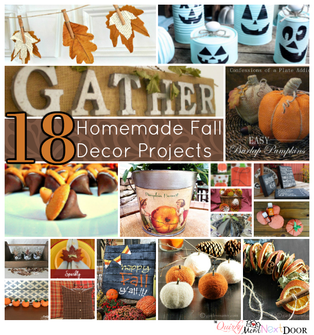 fall decor round-up
