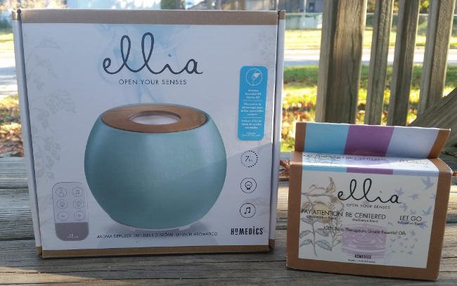 Ellia Balance Ultrasonic Essential Oil Diffuser