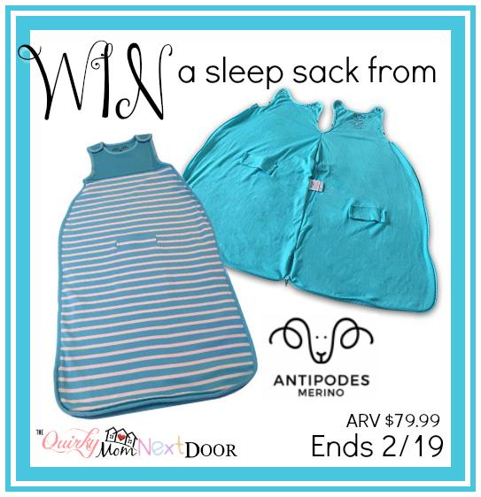 sleep sack giveaway