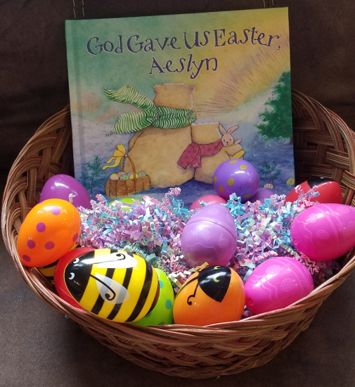 God gave us easter personalized book review gift set giveaway god gave us easter personalized book review gift set giveaway ends 330 negle Choice Image