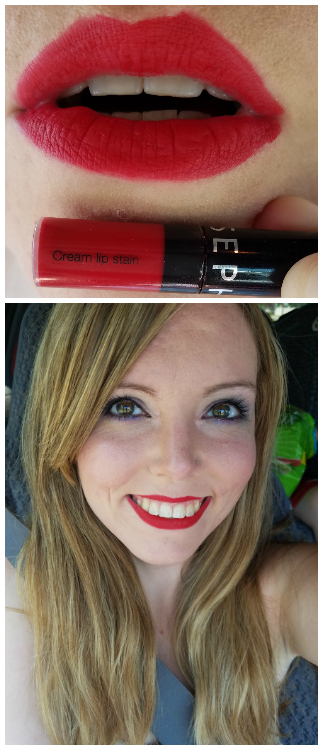 Sephora Cream Lip Stain Always Red
