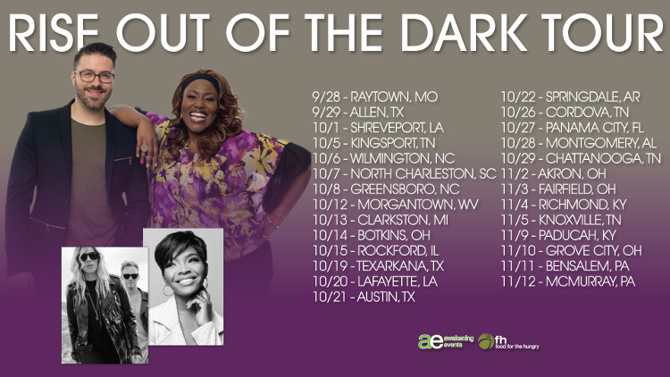rise out of the dark tour